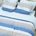 Duvet Cover Set Digital Blue