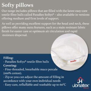 softy fiber pillow