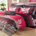 bed cover reversable 2