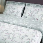 duvet cover set cherries grey