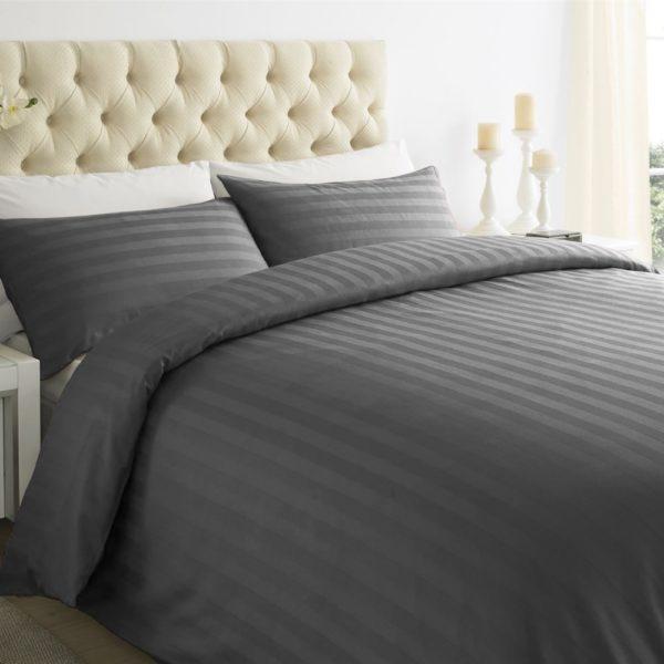duvet cover set lux grey