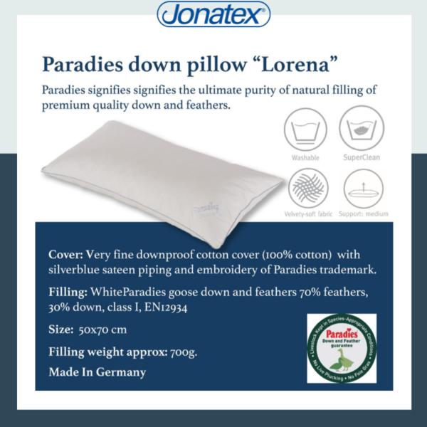 Pillows PARADIES Lorena Feather-down