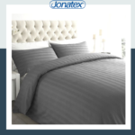 lux grey duvet set