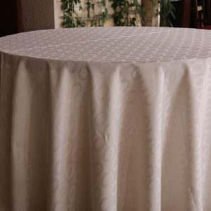 nappe table jacquard
