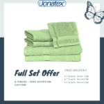 plain towels set