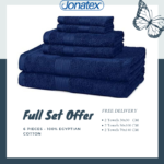 full set offer Plain towels