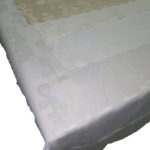 hilda tablecloth white background