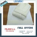 bathrobe with towel full set offer