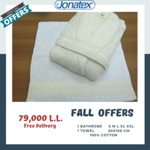 bathrobe with towel full set offer